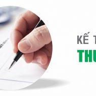 Dịch vụ kế toán thuế trọn gói hàng tháng, quý, năm